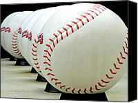 Mlb Canvas Prints - Play Ball....... Canvas Print by Tanya Tanski