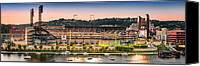 Pittsburgh Pirates Canvas Prints - PNC Park  Canvas Print by Emmanuel Panagiotakis