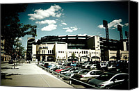 Pittsburgh Pirates Canvas Prints - PNC Park Canvas Print by Kayla Yankovic