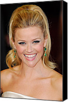 Academy Awards Oscars Canvas Prints - Reese Witherspoon At Arrivals For The Canvas Print by Everett