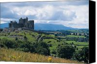 Tourist Destinations Canvas Prints - Rock Of Cashel, Co Tipperary, Ireland Canvas Print by The Irish Image Collection 