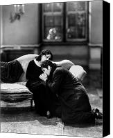 Couples Canvas Prints - Silent Film Still: Couples Canvas Print by Granger