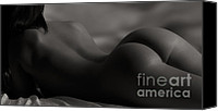 Art Nude Canvas Prints - Solitude  Canvas Print by David  Naman
