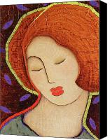 Icon  Mixed Media Canvas Prints - Soul Memory Canvas Print by Gloria Rothrock