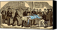 Medical School Canvas Prints - Surgery Without Anesthesia, Pre-1840s Canvas Print by Science Source
