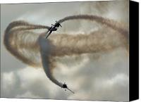 Extra 300 Canvas Prints - The Blades Extra 300 Canvas Print by Angel  Tarantella