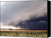 Buffalo Painting Canvas Prints - The Great Plains Canvas Print by Paul Sachtleben