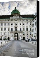 Belvedere Castle Canvas Prints - The Hofburg Imperial Palace Canvas Print by Andre Goncalves