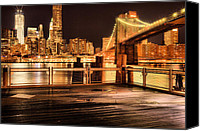 The City That Never Sleeps Canvas Prints - The View Canvas Print by JC Findley