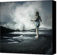 Splashes Canvas Prints - The Wave Canvas Print by Joana Kruse