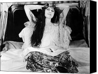 Ambition Canvas Prints - Theda Bara (1885-1955) Canvas Print by Granger