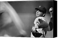 New York Mets Canvas Prints - Tom Seaver (1944- ) Canvas Print by Granger