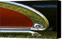 Custom Buick Canvas Prints - 2 Tone Buick Canvas Print by Dennis Hedberg