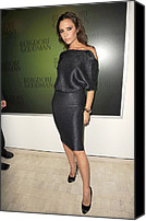 Appearance Canvas Prints - Victoria Beckham Wearing A Victoria Canvas Print by Everett