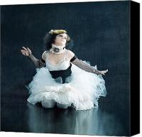 Glove Canvas Prints - Vintage Dancer Series Canvas Print by Cindy Singleton