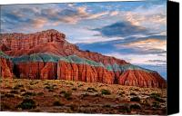 Southern Utah Canvas Prints - Wild Horse Mesa Canvas Print by Utah Images