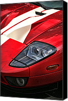 V8 Canvas Prints - 2004 Ford GT Canvas Print by Gordon Dean II