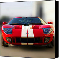 Instagram Canvas Prints - 2006 Ford Gt40 Canvas Print by James Granberry