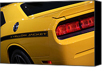 Special Edition Canvas Prints - 2012 Dodge Challenger SRT8 392 Yellow Jacket Canvas Print by Gordon Dean II