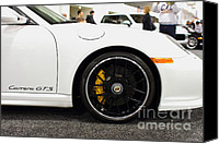 Porsche 911 Canvas Prints - 2012 Porsche 911 Carrera GT . 7D9630 Canvas Print by Wingsdomain Art and Photography