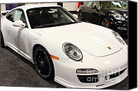 Porsche 911 Canvas Prints - 2012 Porsche 911 Carrera GTS . 7D9631 Canvas Print by Wingsdomain Art and Photography
