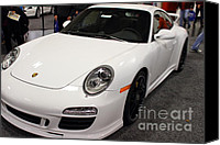 Porsche 911 Canvas Prints - 2012 Porsche 911 Carrera GTS . 7D9635 Canvas Print by Wingsdomain Art and Photography