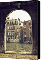 Waterway Canvas Prints - Venezia Canvas Print by Joana Kruse