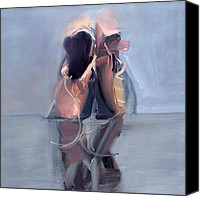 Ballet Slippers Canvas Prints - RCNpaintings.com Canvas Print by Chris N Rohrbach