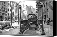 Subway Station Photo Canvas Prints - 23rd Street Station Canvas Print by Ken Marsh