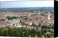Verona Canvas Prints - Verona Canvas Print by Andre Goncalves