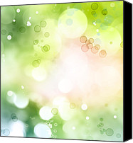 Magic Canvas Prints - Abstract background Canvas Print by Les Cunliffe