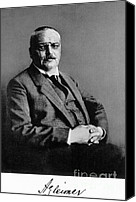 Important Canvas Prints - Alois Alzheimer, German Neuropathologist Canvas Print by Science Source