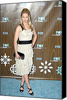 Dianna Agron Canvas Prints - Dianna Agron At Arrivals For Fox Canvas Print by Everett