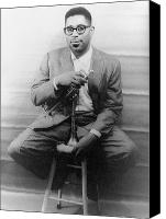 Player Canvas Prints - Dizzy Gillespie (1917-1993) Canvas Print by Granger