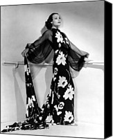 Del Rio Photo Canvas Prints - Dolores Del Rio, 1935 Canvas Print by Everett