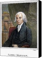 James Madison Canvas Prints - James Madison (1751-1836) Canvas Print by Granger