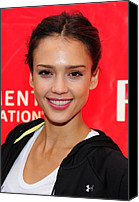 At A Public Appearance Canvas Prints - Jessica Alba At A Public Appearance Canvas Print by Everett