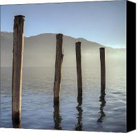 Morning Sun Canvas Prints - Lake Maggiore Canvas Print by Joana Kruse