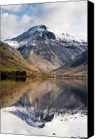 Alpine Canvas Prints - Mountains And Lake, Lake District Canvas Print by John Short