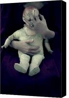 Bavarian Canvas Prints - Old Doll Canvas Print by Joana Kruse