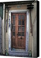 Door Canvas Prints - Old Italian Door Canvas Print by Joana Kruse