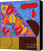 Ipod Canvas Prints - Pandora Canvas Print by Patrick J Murphy