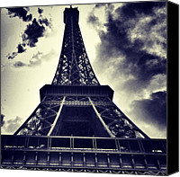 Featured Canvas Prints - #paris Canvas Print by Ritchie Garrod