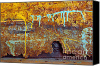 Ruin Canvas Prints - Rust Colors Canvas Print by Carlos Caetano
