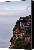 Amalfi Coast Canvas Prints - Sorrento Canvas Print by Tom Prendergast