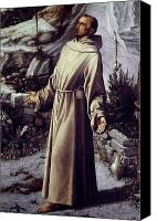 Assisi Canvas Prints - St. Francis Of Assisi Canvas Print by Granger