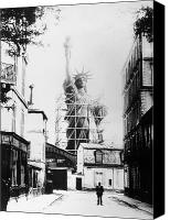 1884 Canvas Prints - Statue Of Liberty, Paris Canvas Print by Granger