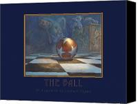 Leonard Filgate Canvas Prints - The Ball Canvas Print by Leonard Filgate