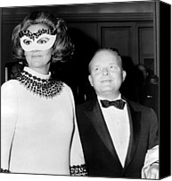 Black Tie Photo Canvas Prints - Truman Capote 1924-1984, Southern Canvas Print by Everett
