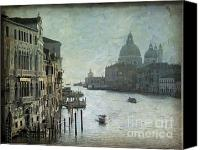 Venice - Italy Canvas Prints - Venice Canvas Print by Bernard Jaubert